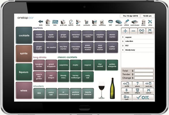Onetap Hospitality Pos Systems Leading Brand Cafe